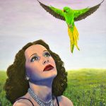 Apparition – Parrot Hollywood painting