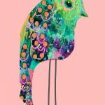 Tropical Rainbow Bird