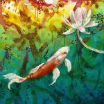 Koi Dreaming- Ltd Ed Print