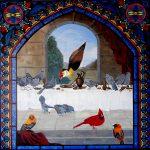 Birds Of Pray ~ Bishop, Cardinal, Apostle And Jesus (Jacana) Birds