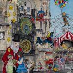 Ltd Ed Astrological Clock