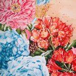 Ltd Ed Poise & Pride Peony & Bush Lily Print
