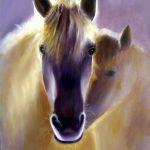 Golden Horses at Morning sun
