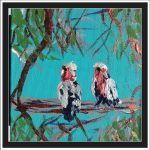 GALAHS IN THE GUM TREES No 3 Ltd Ed Print