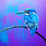 Feathery All-sorts No 7 – Azure Kingfisher