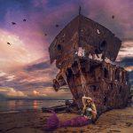 Siren's Sorrow – 10×10″ limited edition print