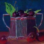 Cherries in silver