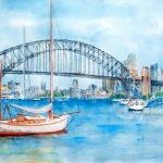 Ltd Ed Print Beautiful Sydney Harbour Bridge
