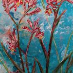 Under the blue sky – Kangaroo paws