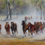 Yarding the Horses