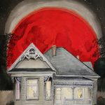 LTD ED Blood Red Moon Print