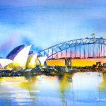 Ltd Ed Print – Sydney Harbour Bridge Sunrise
