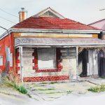 Ltd Ed Thebarton House SA II Print