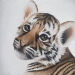 Tiger Cub Painting