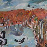Magpies by the Billabong
