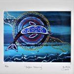 Framed Dolphin Dreaming Ltd Ed Print