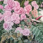 A Life Time Commitment – Pink Roses And Anthurium – Ltd Ed Print