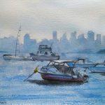 Sydney in the Haze