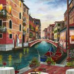 Evening in Venice Ltd Ed Giclee Print