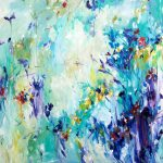 Abstract expressionist painting – Wonderlust