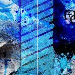 Beauty In Blue – Diptych