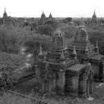 Buddhist Temples 2/4, Old Bagan, Myanmar – Ltd Ed Print