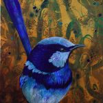 Blue Wren -Ltd Edition Print