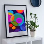 Lunar Epic – A2 Fine Art Modernist Print