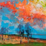 Gumtrees by the Waters Edge *SOLD* LIMITED EDITION FINE ART REPRODUCTIONS AVAILABLE