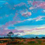 Sunrise Over a Queensland Farmland