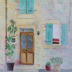 Doorway in Lauzerte France
