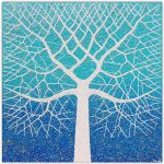 Beach Tree Ocean Swirls – SOLD
