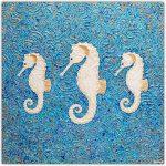 Seahorses Abstract