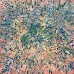 Abstract Coral Reef from Above CZ18039