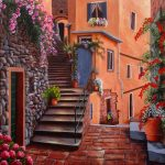 The back streets, Vernazza, Cinque terre, Italy