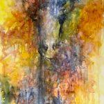 Abstract Giraffe CZ18010