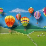 Uplifting Balloons over Yarra Valley
