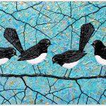 Willie Wagtails Bird Series